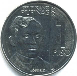 新1ペソコイン 表