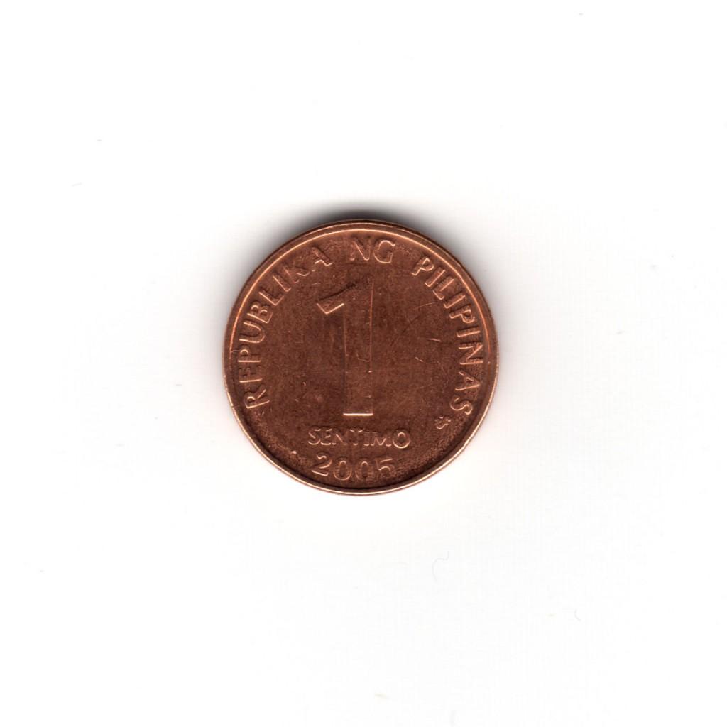1センティモコイン 表