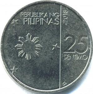 新25センティモコイン 表