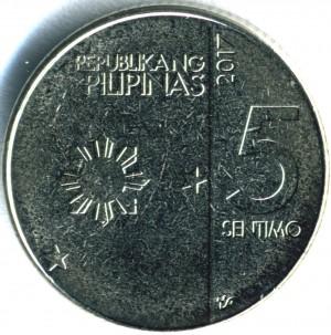 新5センティモコイン 表