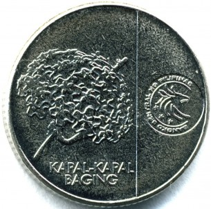 新5センティモコイン 裏