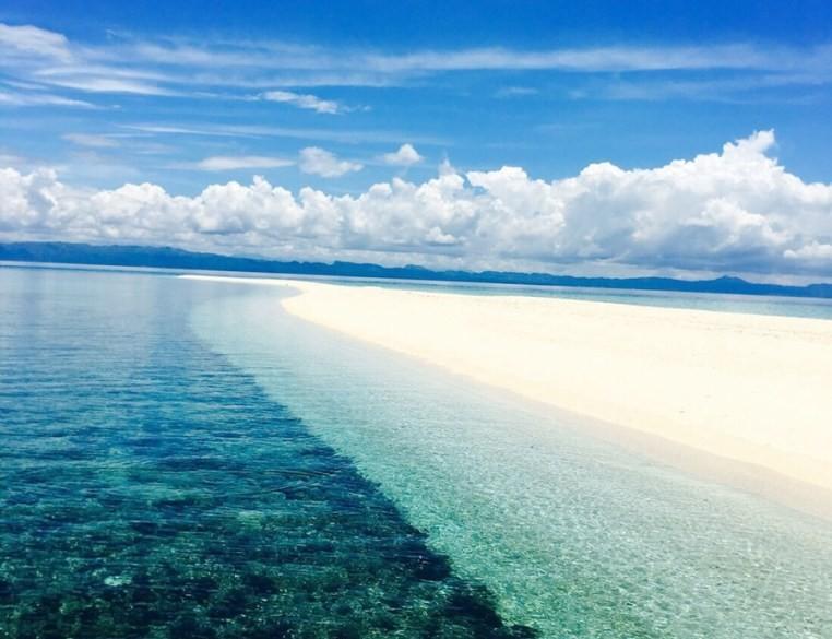カランガマンの海