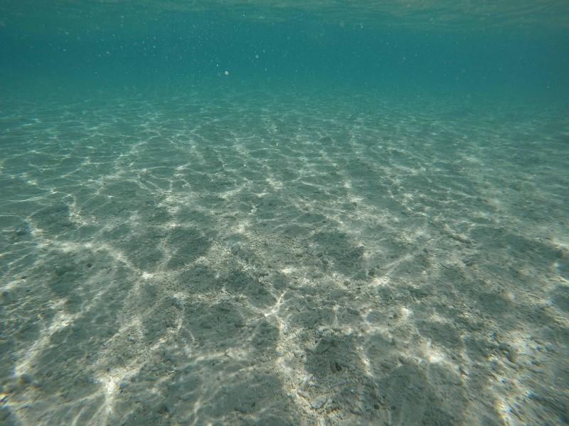 スミロン島の水中