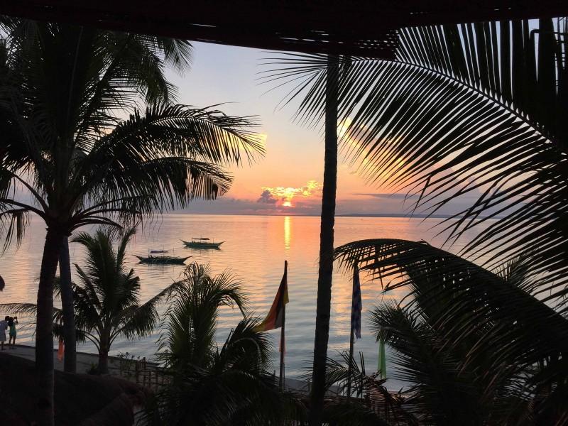 マラパスクアから見れる朝日