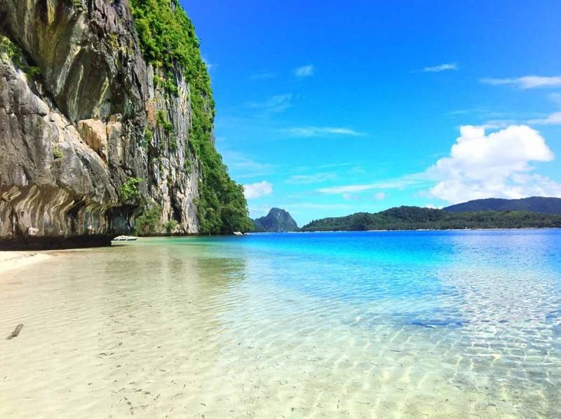 パラワン島の海