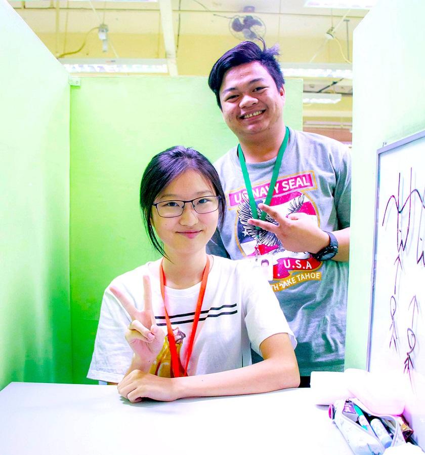 K.Iさんと英語の先生