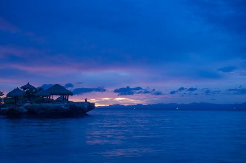 カモテスから見れる夕日