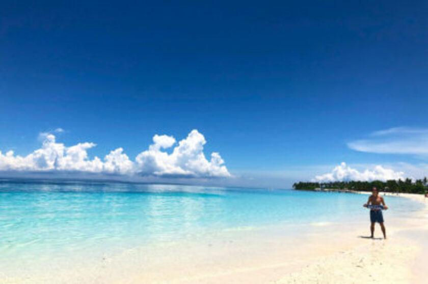 カランガマンのビーチ
