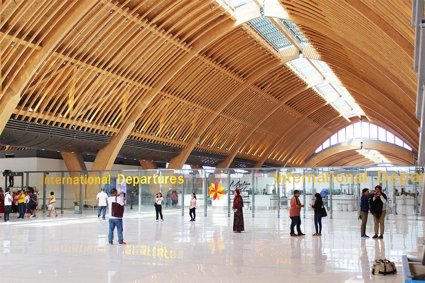 マクタン空港新ターミナル内装