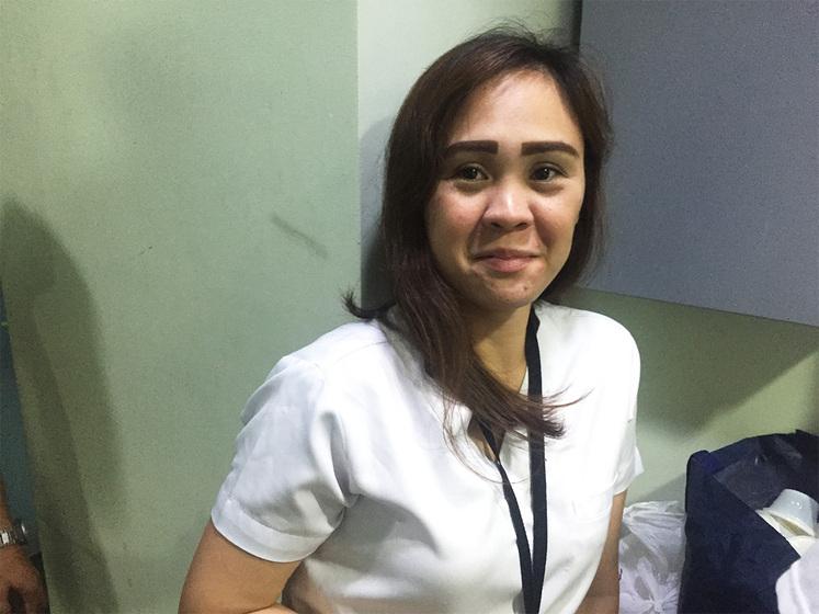 フィリピン人のナース、とても優しいです