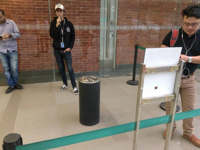 ITパークの喫煙所