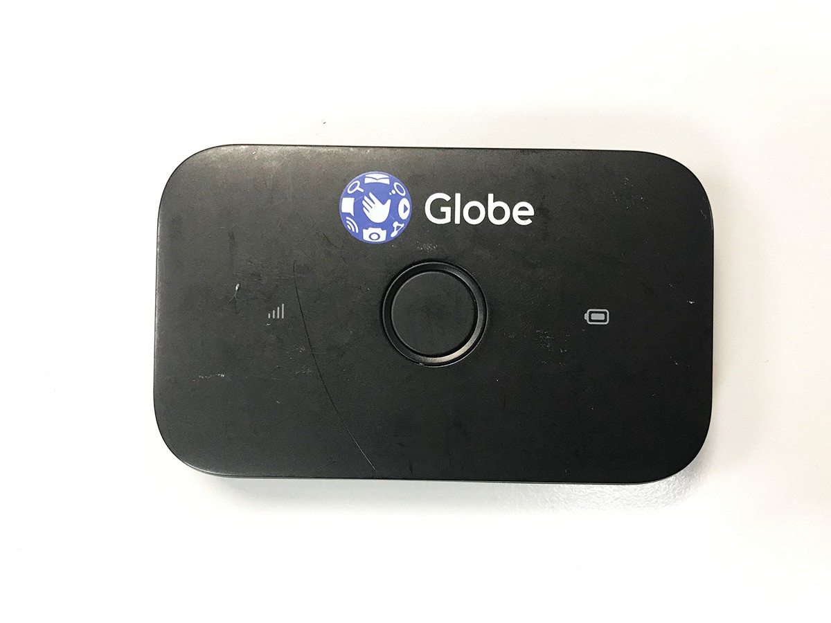 GlobeのポケットWi-Fi本体