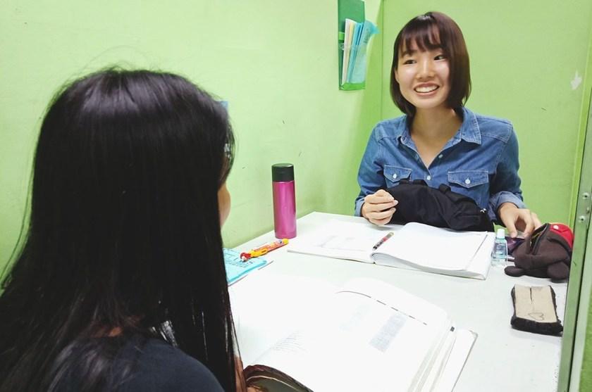 留学中の授業