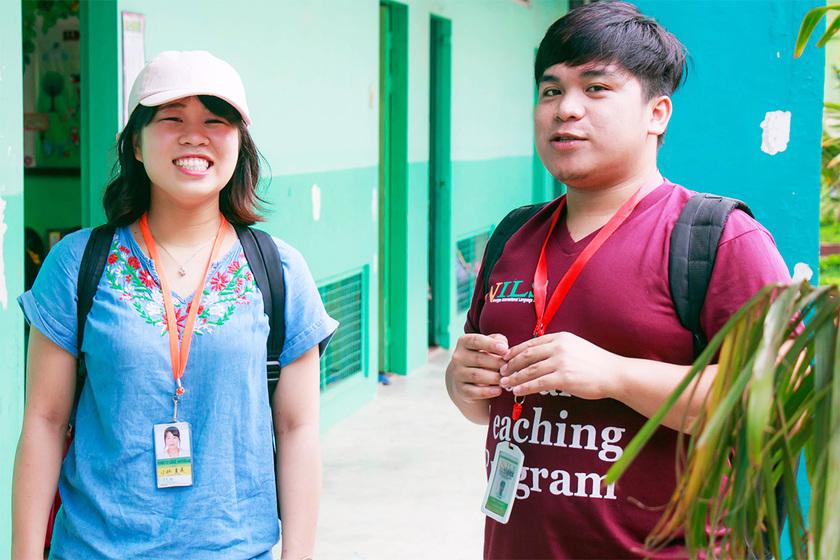 ナツミさんとフィリピン人メンター