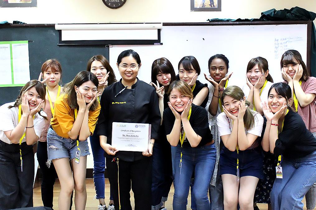 今回夏季海外(セブ)研修に参加された筑紫女子学園の皆さま