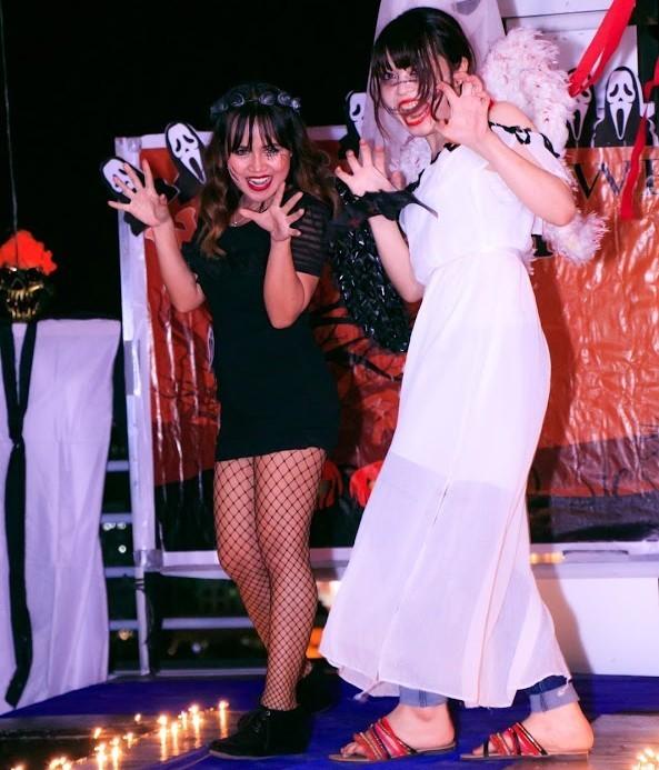 ハロウィン ファッションショー