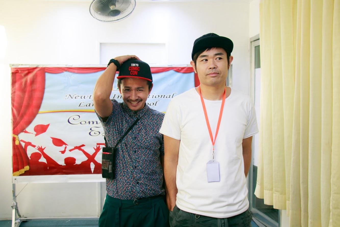 品川さん卒業の時の写真