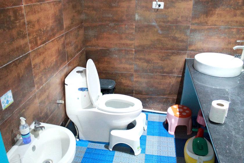 託児所のトイレ