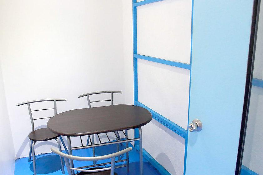 託児所の面談室