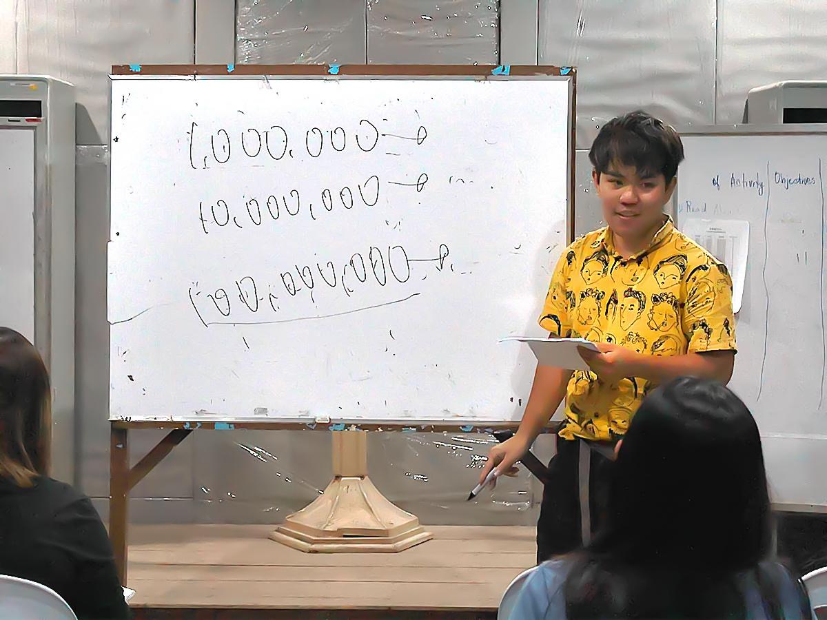 数字の単位についておしえてます。