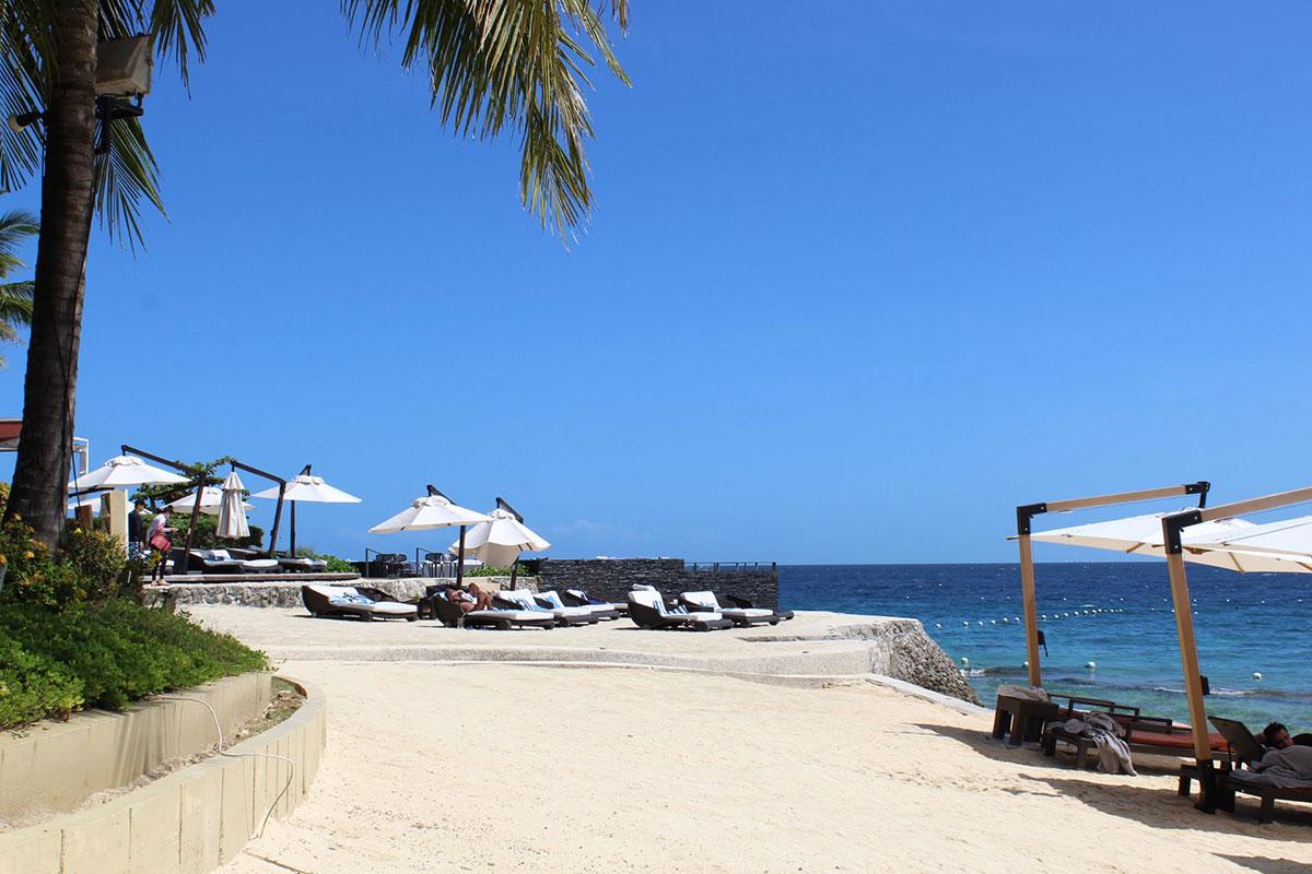 セブ島には綺麗なビーチがたくさんあります。