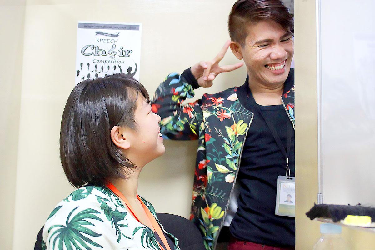 萌那さんが大好きな先生です。