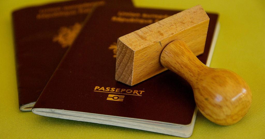 パスポートとVISA