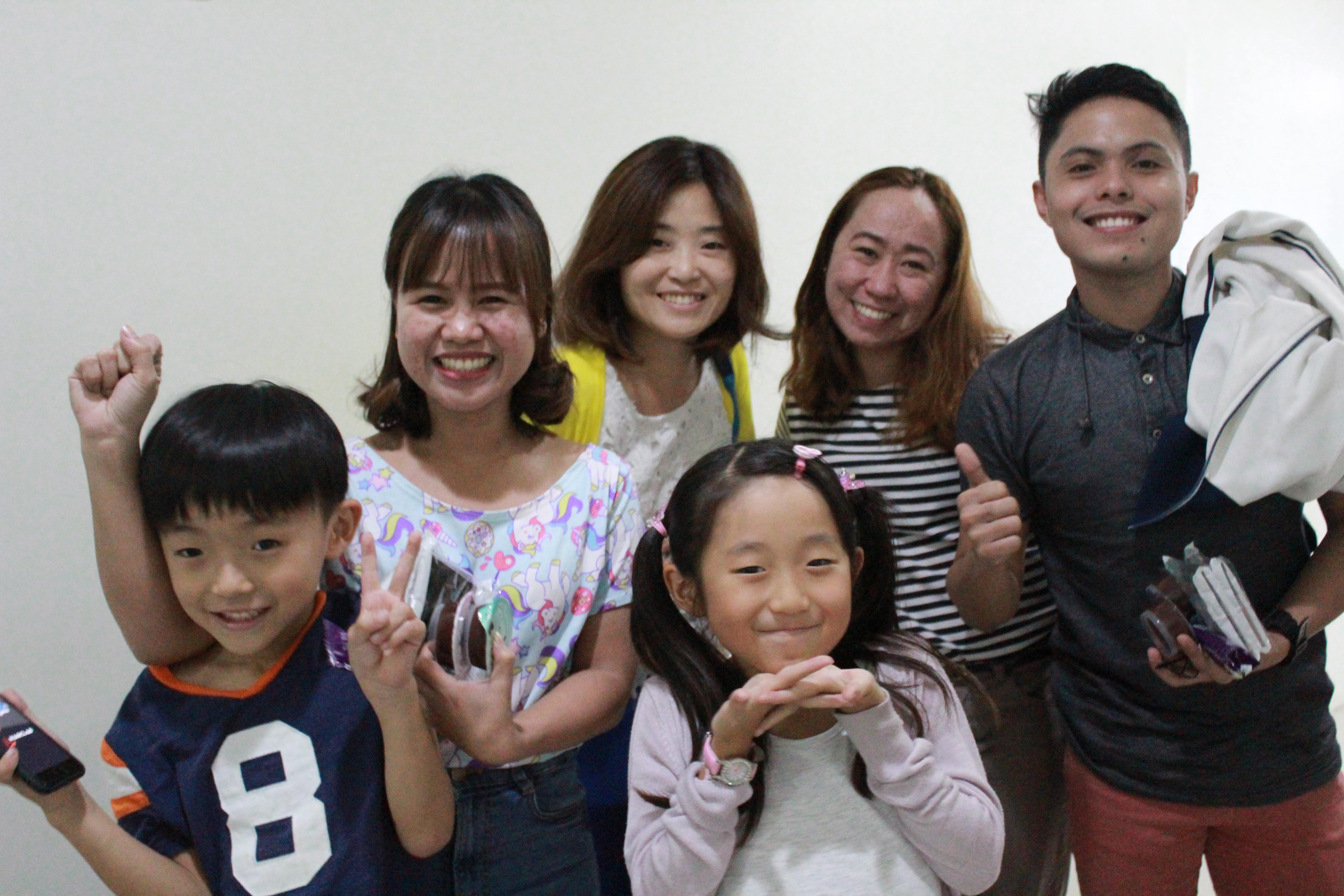 日本でのSkype以来の再会