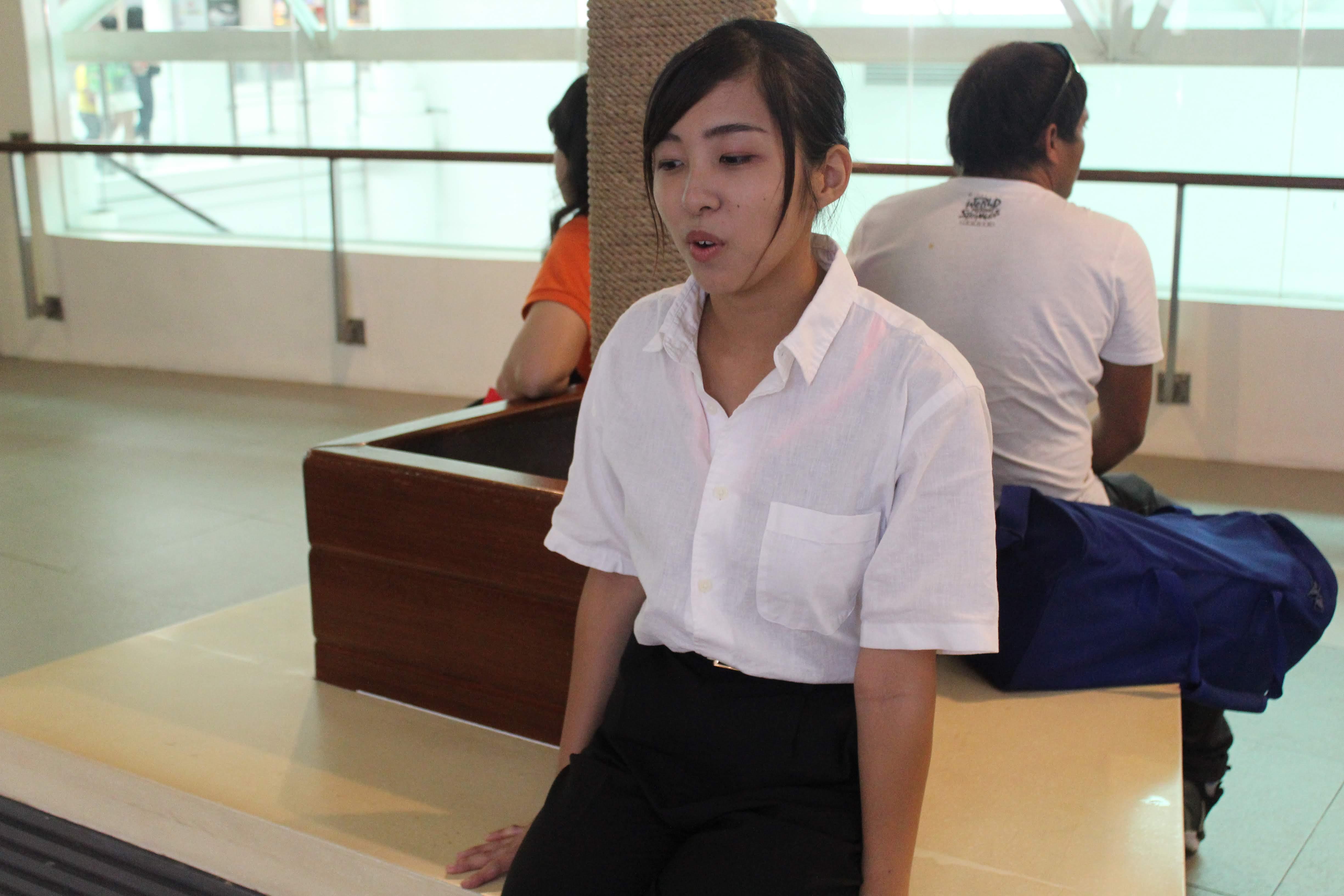 OJTプログラムに挑戦したきっかけについて語る石井さん