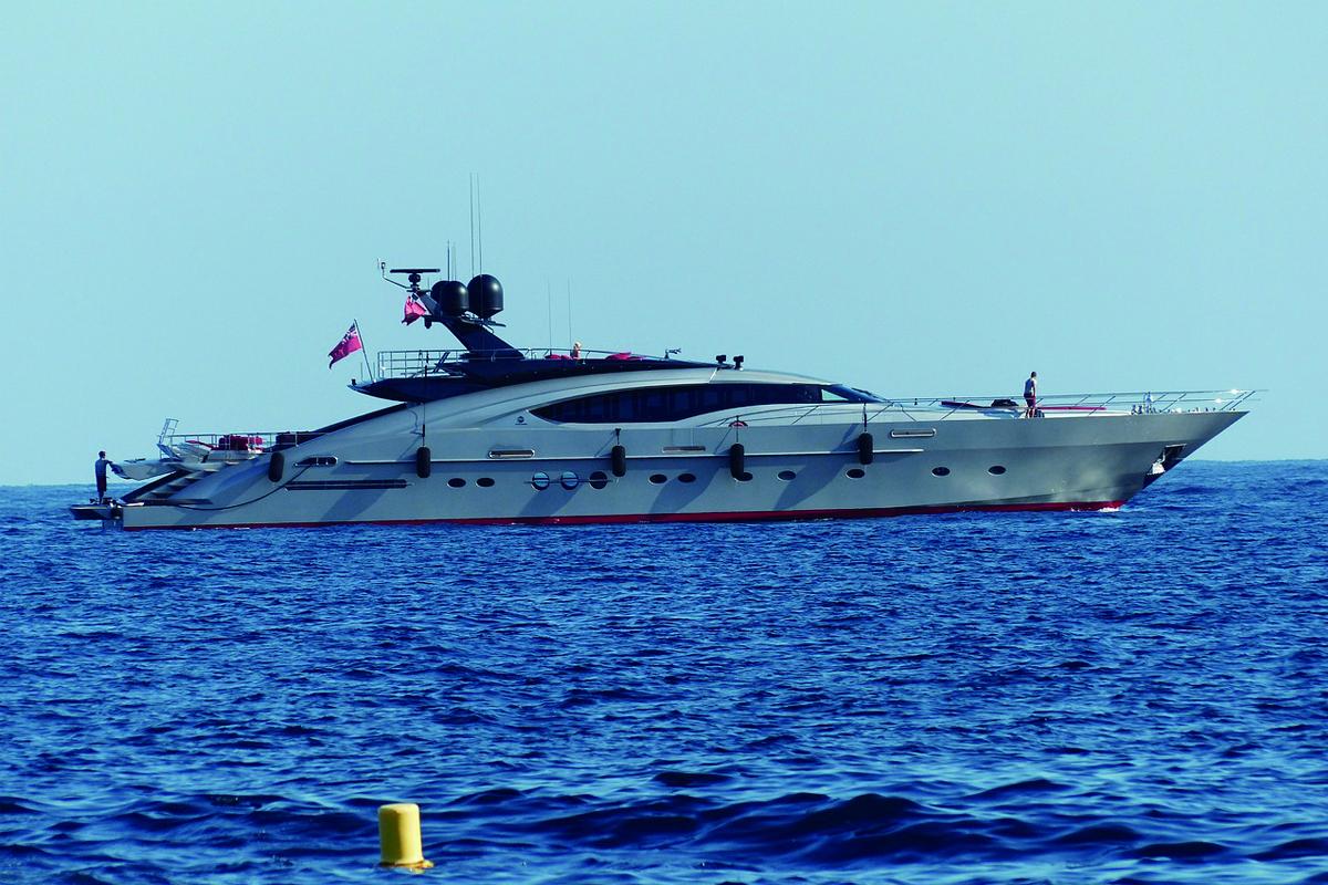 オーシャンジェットとは、日本でいう高速船です