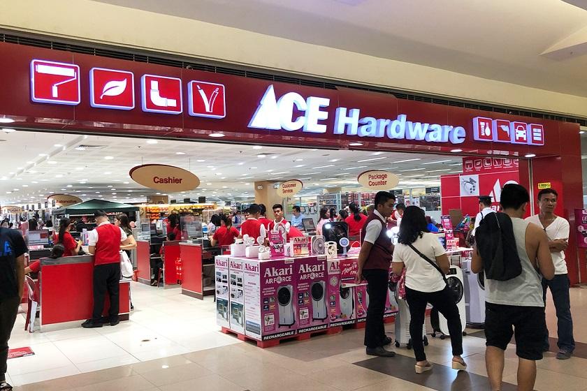 フィリピンの家電量販店『ACE』です