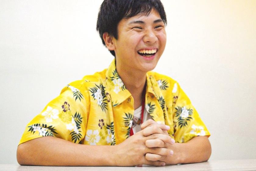 インターンで色んなことを学べたと答える東さん。素敵な教師になることを楽しみにしています。
