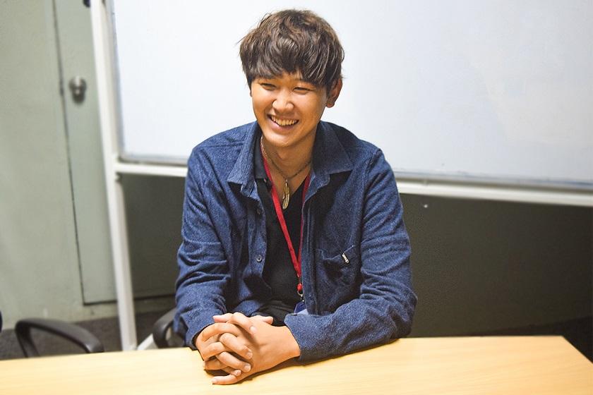 今回インタビューを受けていただいた嶋貫さん